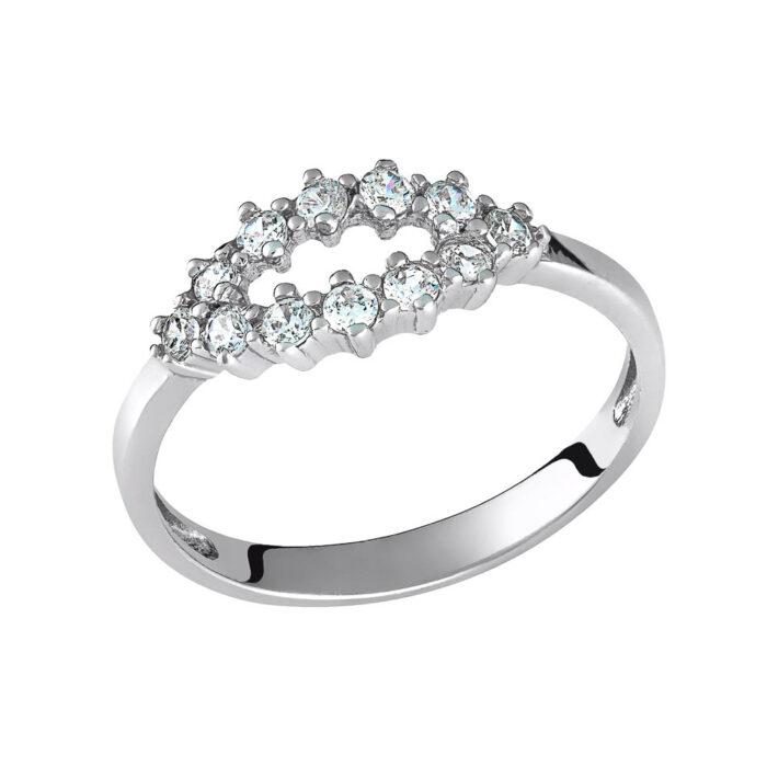 14k Δαχτυλίδι πετράτο με σχέδιο