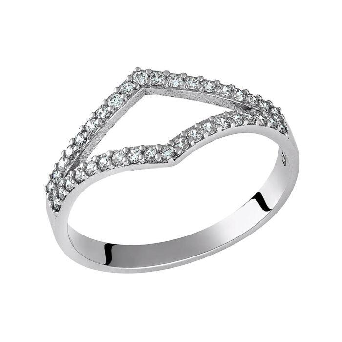 14k Δαχτυλίδι ρόμβος
