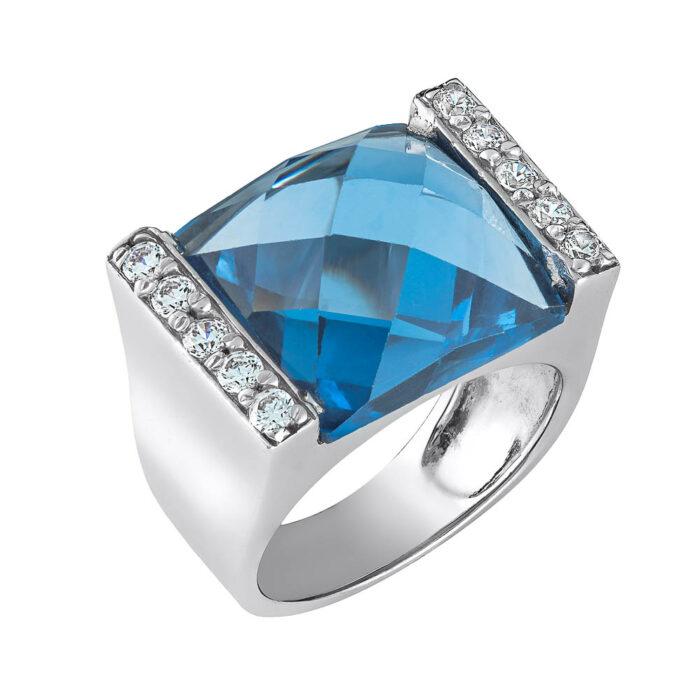 14k Δαχτυλίδι με ημιπολύτιμη πέτρα ακουαμαρίν