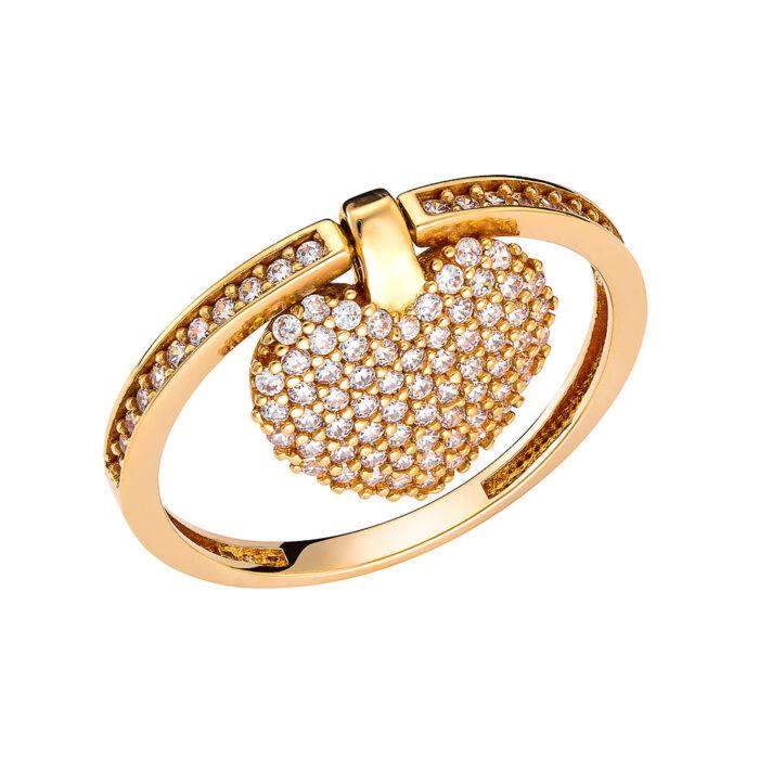 14k Δαχτυλίδι καρδούλα
