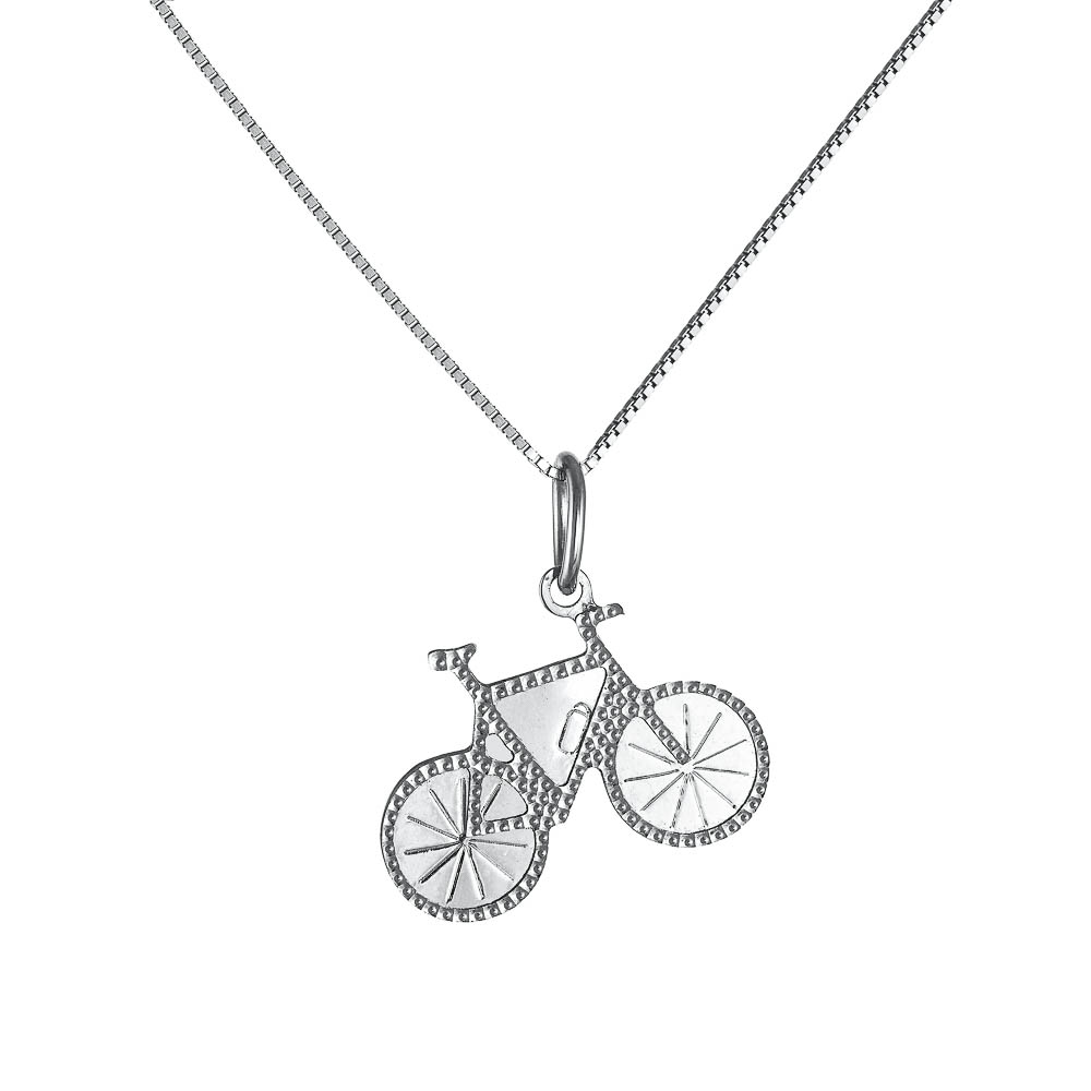 14k Κολιέ ποδήλατο