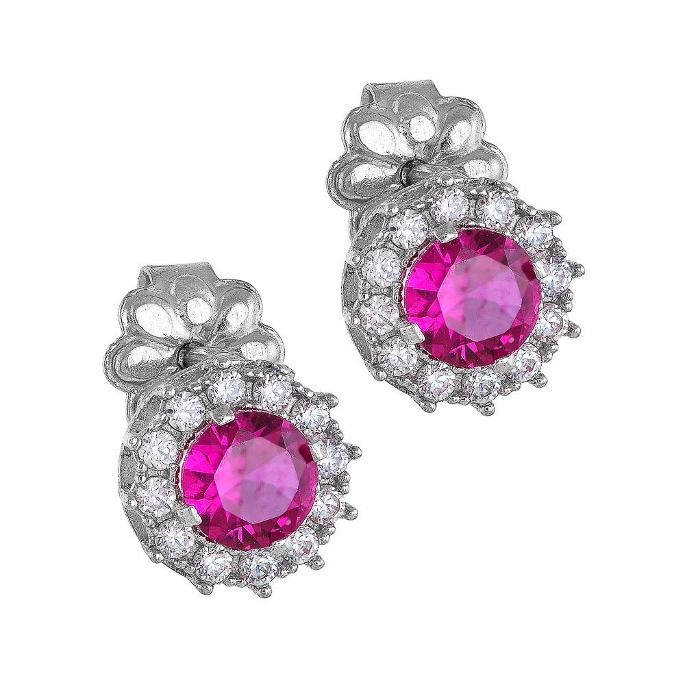 14k Σκουλαρίκια ροζέτα