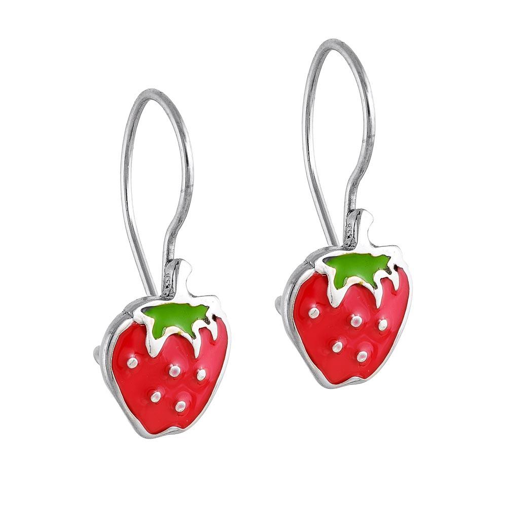 14k Σκουλαρίκια  φράουλες